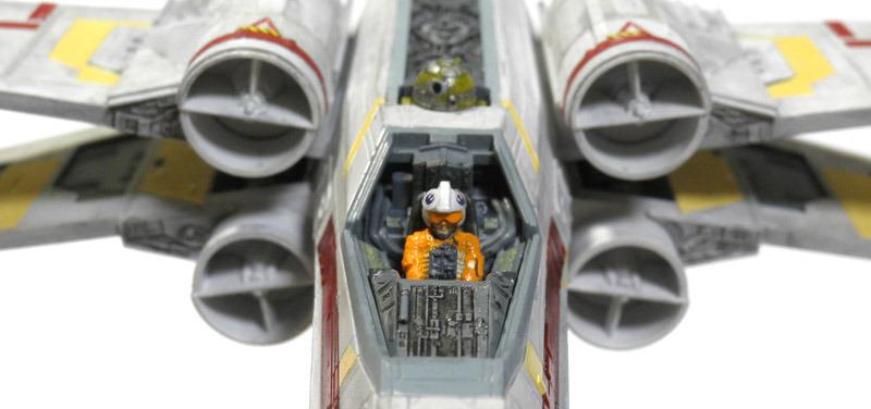 バンダイ 1/72 X,Wing Starfighter の製作(2号機)(その7