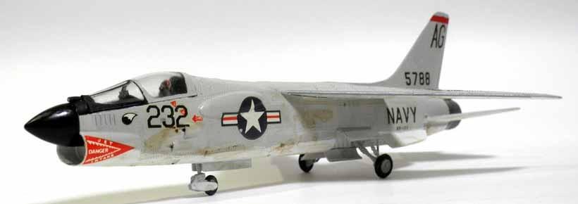 フジミ 1/72 F-7D クルセイダー:...